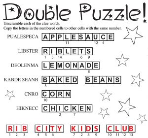 Double Puzzle Answer
