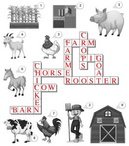 Farm Crossword Answers
