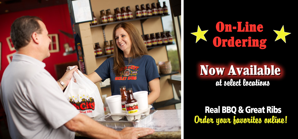 Rib City Online Ordering Now available in select stores