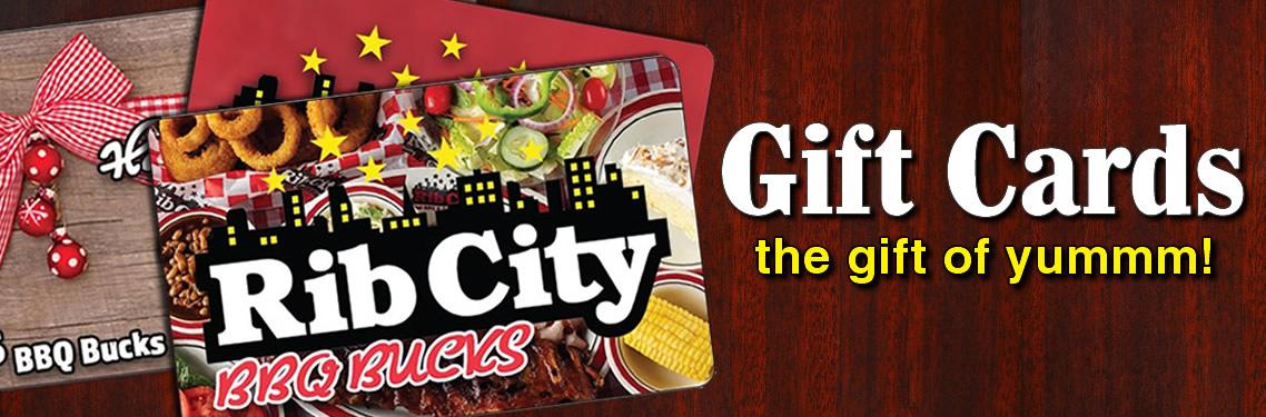 Rib City Gift Cards